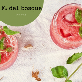 Ice tea Frutos del Bosque, lata de 250g