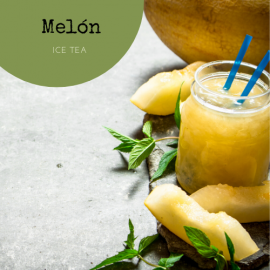 Ice tea Melón, lata de 250g